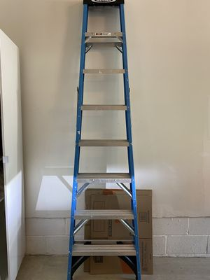 Werner 8 ft tall ladder for Sale in Short Hills, NJ