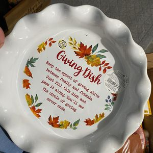Thanksgiving giving Dish for Sale in Ansonia, CT