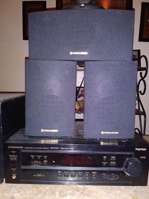 Pioneer surround sound three Center speakers and one subwoofer for Sale in Philadelphia, PA