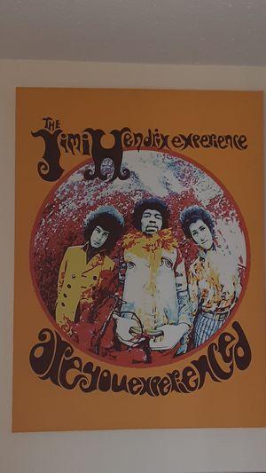 Jimi Hendrix Canvas Art for Sale in Bristol, CT