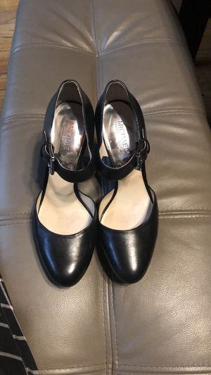 Michael Kors black leather platforms for Sale in Downey, CA