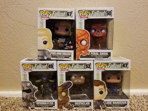 Fallout series Funko Pops for Sale in Fresno, CA