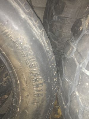 Trailer tires 205/75/15 for Sale in Pomona, CA