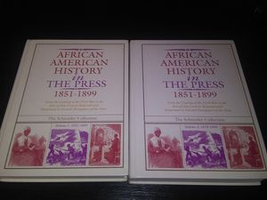 African Americans in the Press 2 volumes for Sale in Butner, NC