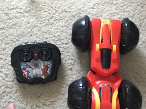 Avengers 2 sided twistable remote car for Sale in Schaumburg, IL