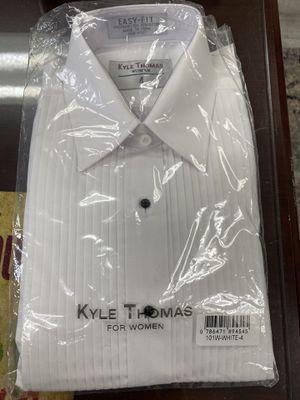 Women Tuxedo Dress shirt NWT. Size 4 for Sale in Phoenix, AZ