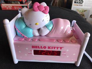 Gently Used Very Cute Sanrio Hello Kitty Alarm Clock/Radio for Sale in Ontario, CA