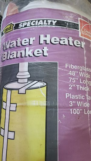 New never used hot water heater blanket for Sale in Sanger, CA