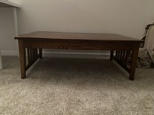 Wood coffee table for Sale in Hilliard, OH