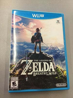 Nintendo Wii U The Legend of Zelda Breath of the Wild / BOTW for Sale in Auburn, WA