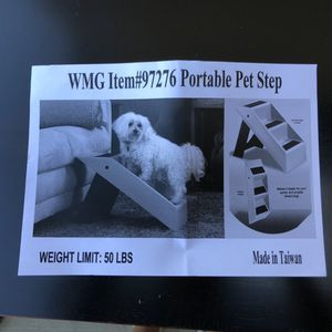 Portable dog stairs for Sale in Chino, CA