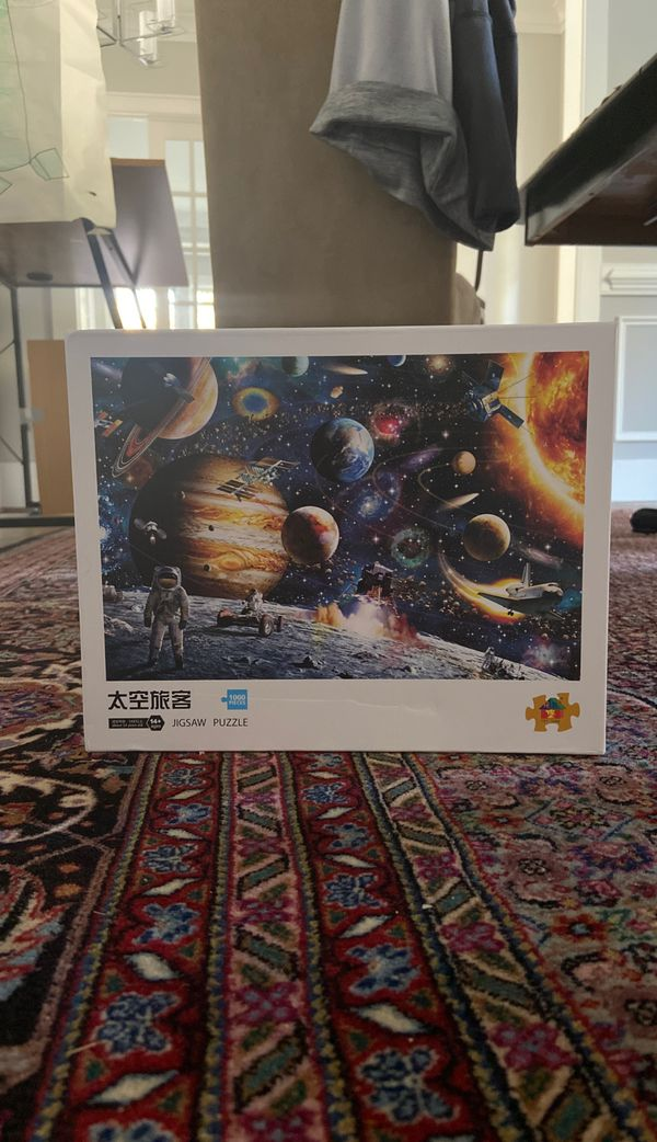 Jigsaw space puzzle