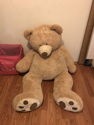 HUGE Teddy Bear for Sale in Tacoma, WA