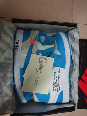 Off-white x Nike Air Jordan 1 ;size 5.5 to 11 for Sale in Detroit, MI