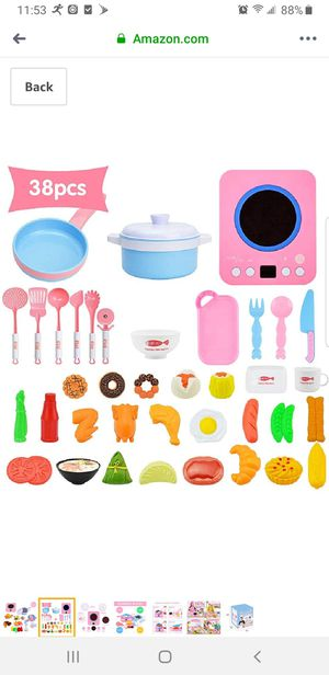 Kids kitchen food toys brand new for Sale in Buena Park, CA