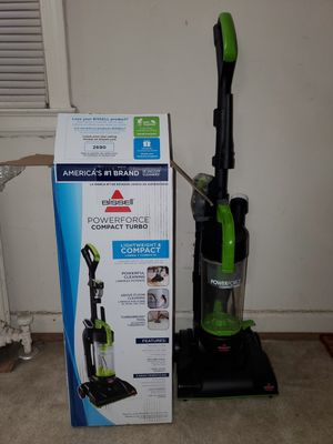 Bissell power force compact turbo vacuum for Sale in Arlington, VA