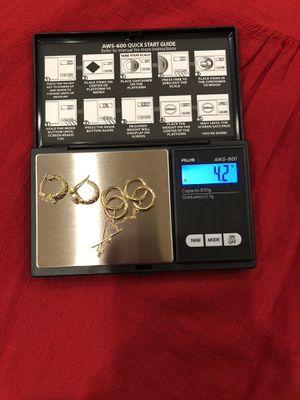 Solid bundle 14k Earrings for Sale in Chula Vista, CA