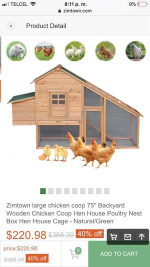Chicken Coop for Sale in San Diego, CA