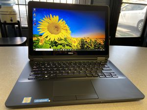 "Dell Latitude E7270 Ultrabook 12.5"" Touchscreen Core i7 7th Generation for Sale in Los Angeles, CA"