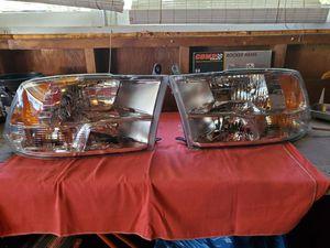 Dodge ram headlamp assemblies for Sale in Arlington Heights, IL