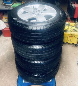"""18"""" OEM all season benze wheels and tires for Sale in Aspen Hill, MD"""
