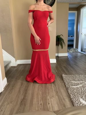 Prom dress only worn once for Sale in Sterling Heights, MI
