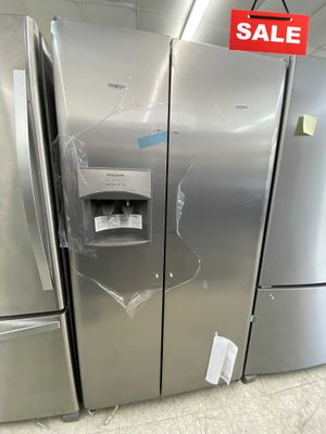 BLOWOUT SALE!Frigidaire Refrigerator Fridge $39 Down Stainless Steel #1502 for Sale in Lauderhill, FL