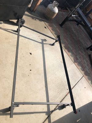 Bed frame and box spring for Sale in Modesto, CA