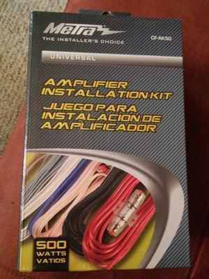 Metra Amplifier Intallation Kit...Universal for Sale in Sharpsburg, PA