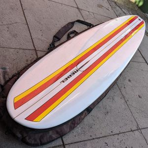 """8'0"""" Like New Surfboard Funboard Post Wavestorm Rider for Sale in Los Angeles, CA"""