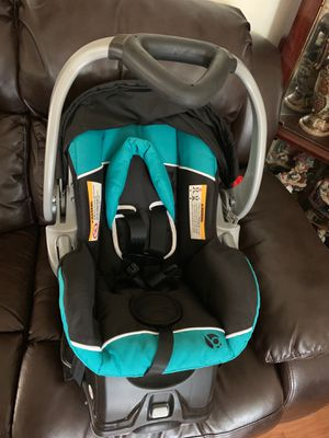 Blue Car seat with base-New for Sale in Chesapeake, VA