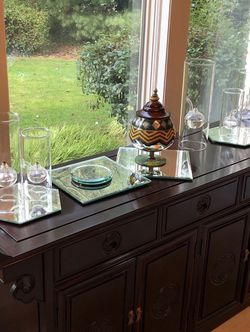 Vintage Wood Side Table / Chest for Sale in Tualatin,  OR