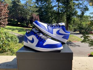 Air Jordan 1 low game royal Size 10 * 1 Size 10.5 * 1 Size 12 * 1 for Sale in Bellevue, WA