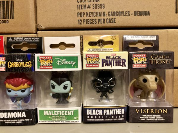 Funko Pop Disney Marvel IT Game of Thrones Gargoyles Bobs Burgers Black Panther Pennywise Maleficent Collectible