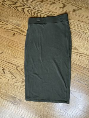 Army green pencil skirt for Sale in Columbia, NJ