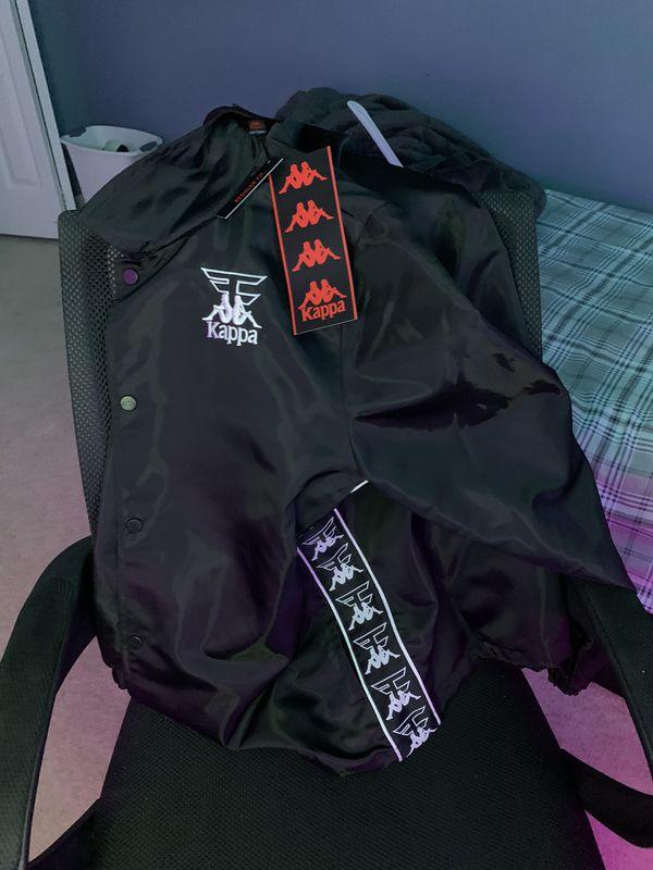 Brand new faze x kappa jacket