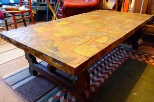 Antique copper coffee table for Sale in Anderson, SC