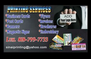 BUSINESS CARDS $39,99 {818} 799-7733 for Sale in Los Angeles, CA