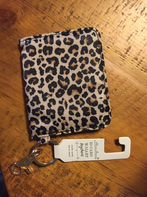 NWT cute leopard print ID card wallet travel wallet for Sale in Henderson, NV