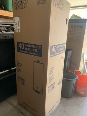 Brand New 40 Gallon Gas Water Heater for Sale in Las Vegas, NV