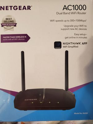 New in Box - Netgear AC1000 Dual Band Wifi Router for Sale in Spring Hill, FL