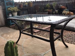 Patio table, wicker outdoor table, outdoor furniture for Sale in San Diego, CA