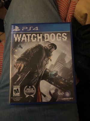Ps4 console game (watch dogs) for Sale in Springfield, VA