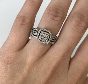 Diamond halo engagement Ring for Sale in Dallas, TX