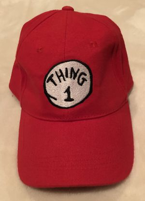 New! Dr. Seuss Authentic Thing 1 Adult Baseball Hat Adjustable for Sale in Pembroke Pines, FL