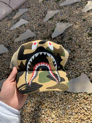 "Bape trucker ""shark attack "" for Sale in Riverside, CA"