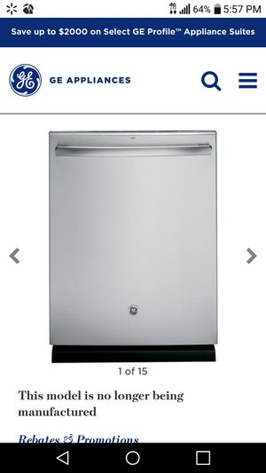 New GE Dishwasher Stainless Steele for Sale in Stockbridge, GA