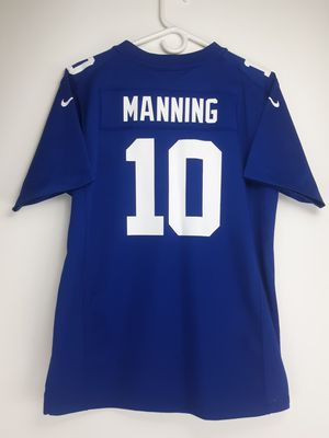 Eli Manning #10 NFL New York Giants On Field NIKE Jersey Youth Size XL 18/20 for Sale in PT ORANGE, FL