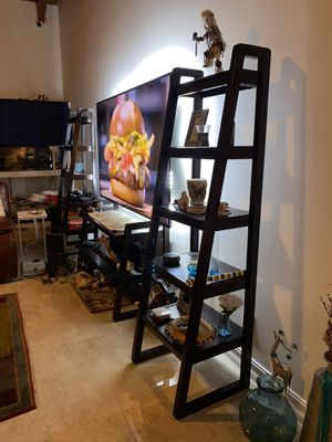 Ladder Shelves and TV Stand for Sale in Boca Raton, FL