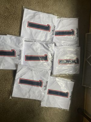New England patriots cam newton authentic jerseys for Sale in Kalamazoo, MI